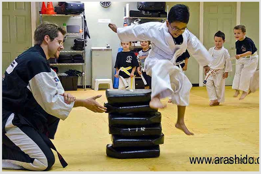 Karate Kids Fun
