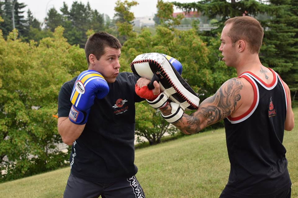 Adult Muay Thai Outdoors