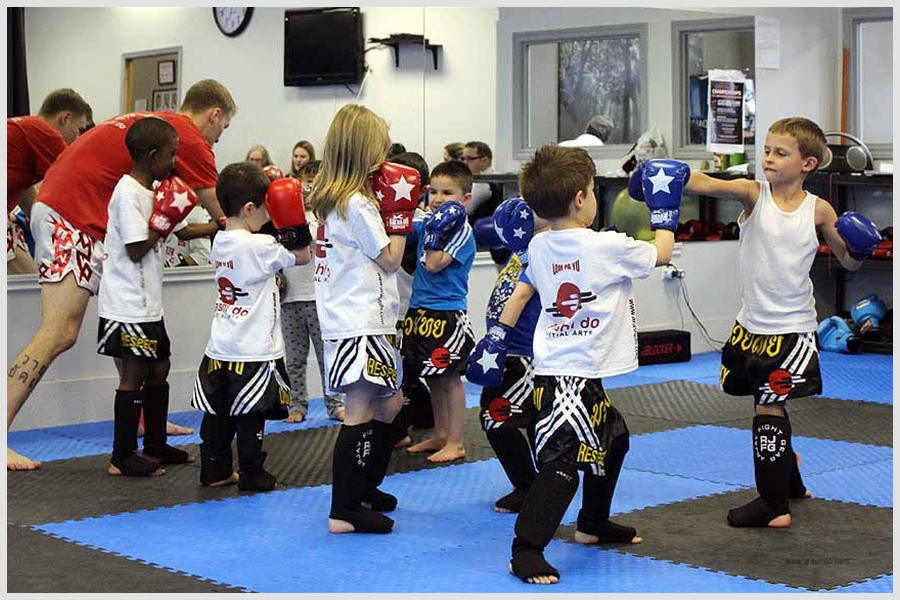 Muay Thai Kids Classes