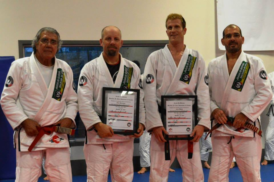 Edson BJJ Belt Ceremony