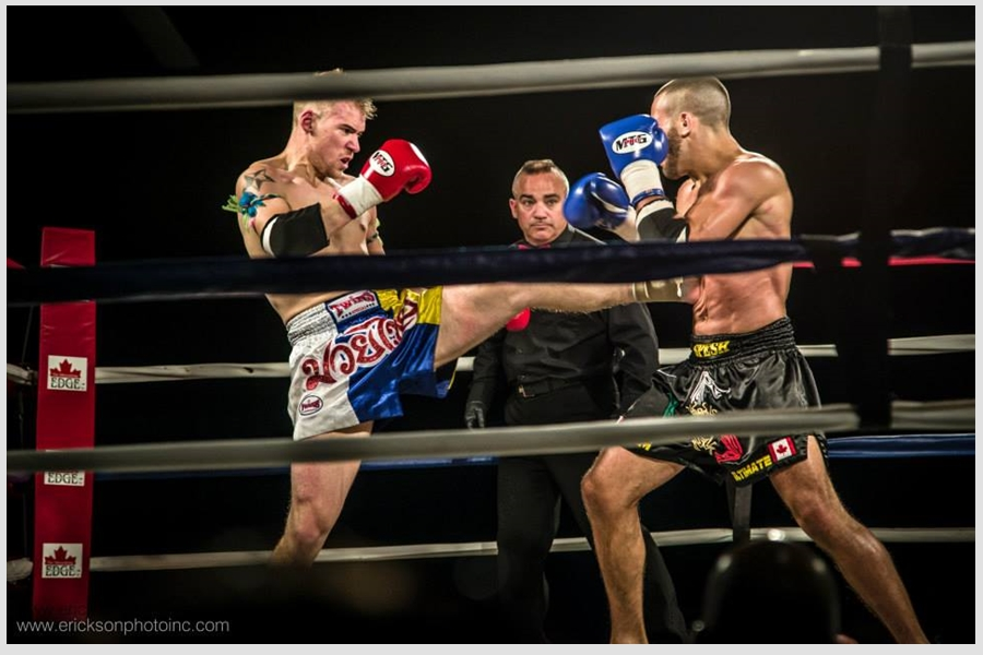 Muay Thai Ring Fight