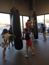 Tiny Thaigers Muay Thai class at Arashi-Do West Edmonton!