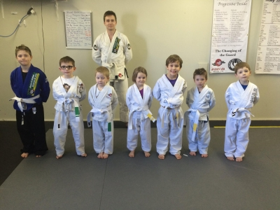 Mini Monkeys (Jiu Jitsu, 4-7 years old).