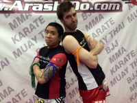 Advanced Muay Thai Grading, Ed South!