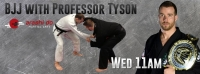 Professor Tyson teaches weekly at Edmonton North